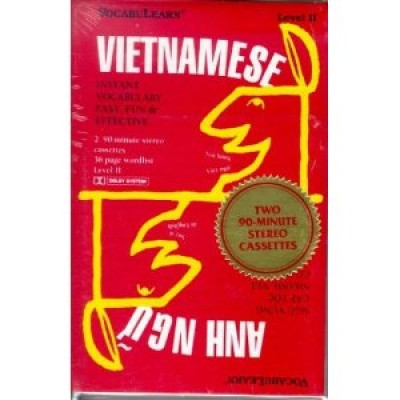Vocabulearn Vietnamese Level 2 (Two cassettes)