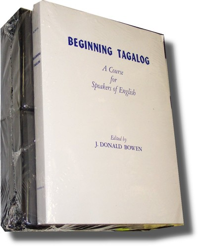 Spoken Tagalog Level I & II (542 pages 24 cass)