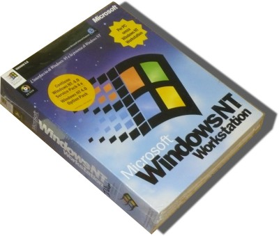 Microsoft Windows NT 4.0 Workstation (Full Retail Version 4.0 CD-ROM) Italian