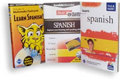 Talk Now I & II Plus Flash Card SUPER BUNDLE -Spanish