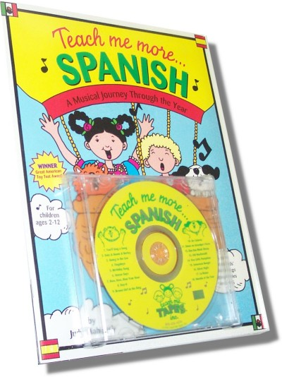 Teach me more Spanish for Children (Book & CD)