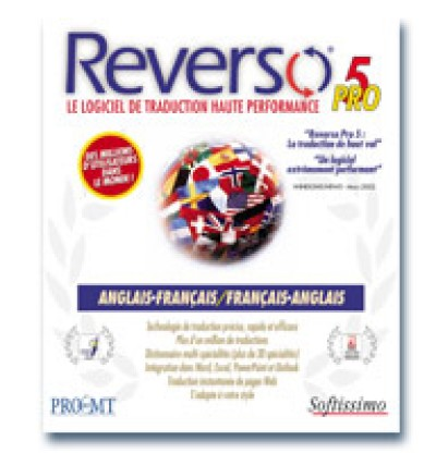 Reverso Pro French to and from English V.5