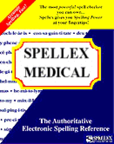 Spellex Medical for Word 2000 (25 User)