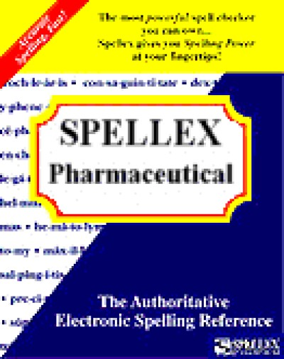 Spellex Pharmaceutical for Word 2000 (5 User)