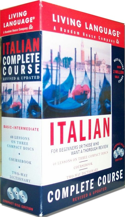 Living Language - Italian Basic Course (Book & Audio CD)
