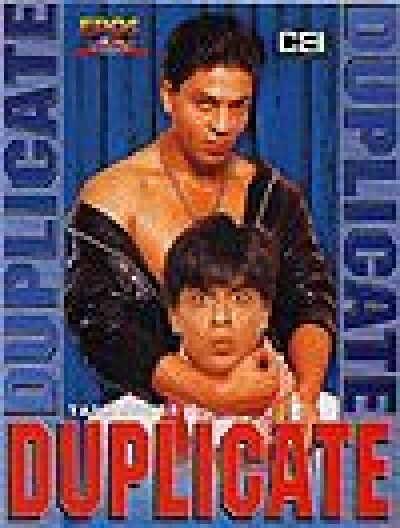 Duplicate - Indian DVD Movie about two men, one good and one bad