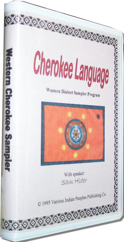 Cherokee Language: Western Dialect Sampler Prgram (Audiotape w/ 12 Page Booklet)
