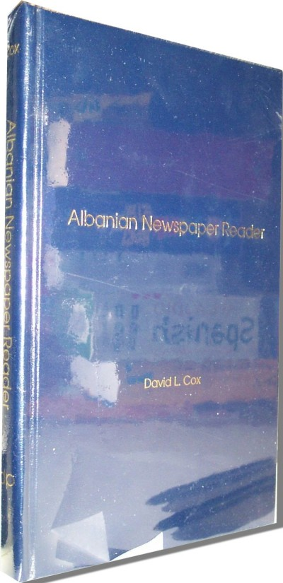 Albanian Newspaper Reader (Hardcover/2 Audiotapes)