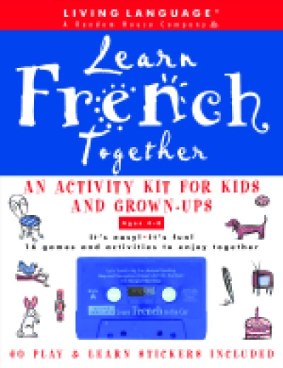 Living Language - Learn French Together (Audiotape w/ Book)