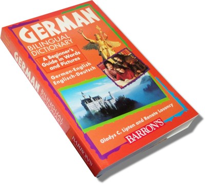 German Bilingual Dictionary: A Beginner's Guide in Words and Pictures (Paperback)