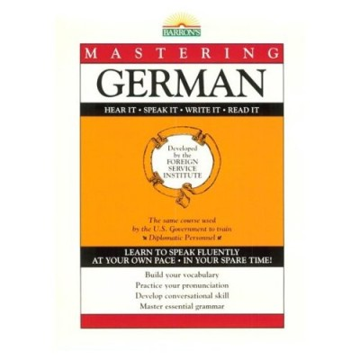 Barrons - Mastering German Level I (Book Only)