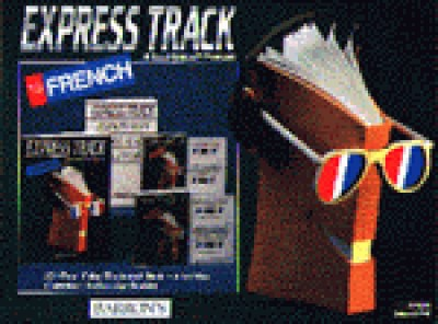 Barrons - Express Track to French (Book & AudioTapes)