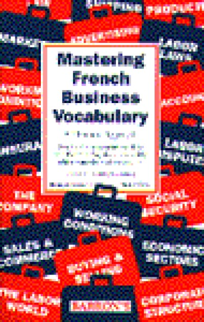 Barrons - Mastering French Business Vocabulary
