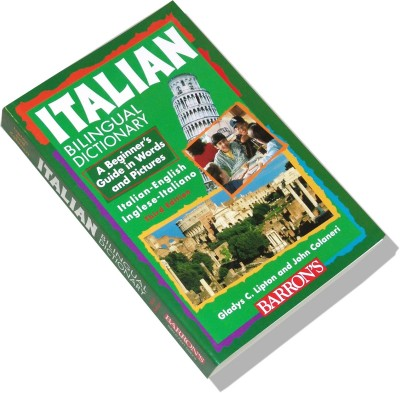 Italian Bilingual Dictionary: A Beginner's Guide in Words and Pictures (Paperback)