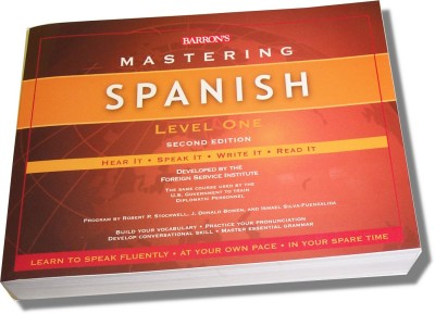 Mastering Spanish Level I (Book Only)