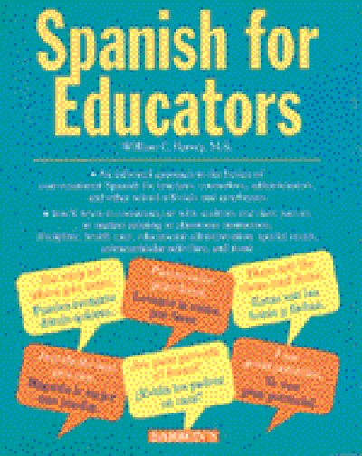 Spanish For Educators (Book & Audiotapes)