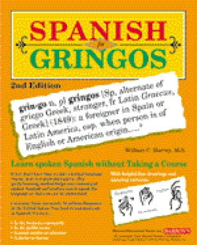Barrons - Spanish for Gringos (Book & AudioTapes)