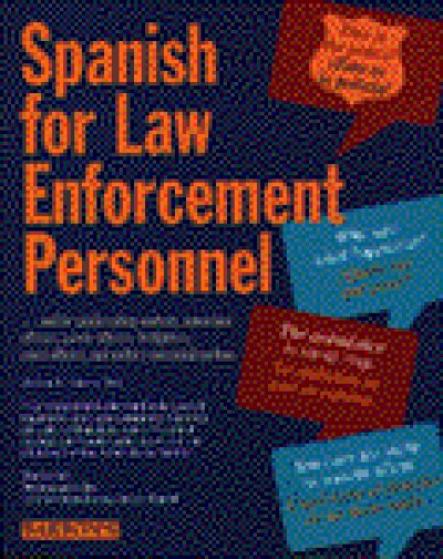 Barrons - Spanish for Law Enforcement Personnel (Book & AudioTapes)
