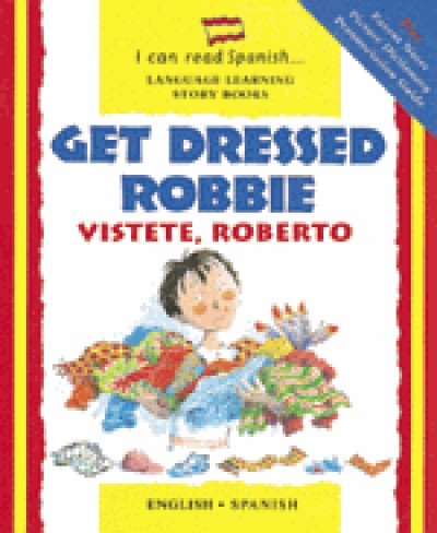 Barrons - Vistete, Roberto / Get Dressed, Robbie (Book & AudioTapes)
