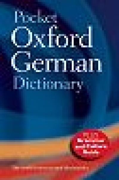 Pocket Oxford German Dictionary - 4th Edition (Paperback)