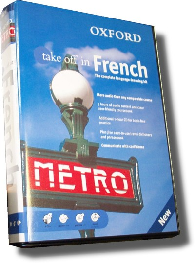 Oxford French - Take Off In French (Book and 4 CDs)