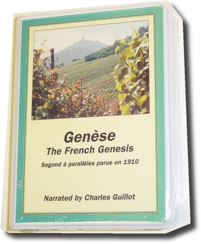French Genesis, Segond Version (4 Cassettes)