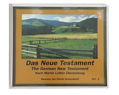 German New Testament, Luther Version (24 Cassettes) Bible