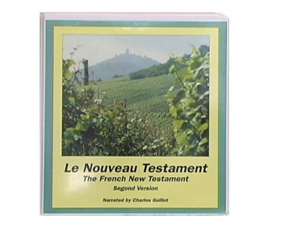 French New Testament, (Le Nouveau Testament) Segond Version (16 Cassettes) Bible