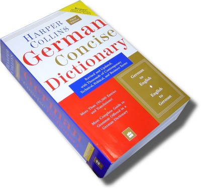 Harper Collins German - German Concise Dictionary 3rd Edition
