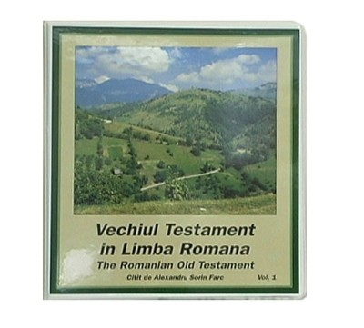 Romanian Old Testament, Cornilescu Version (48 cassettes) Bible