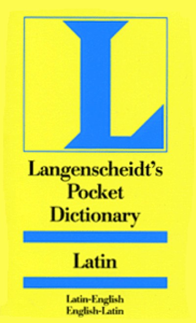 Langenscheidt Pocket Latin - Latin to and from English Dictionary