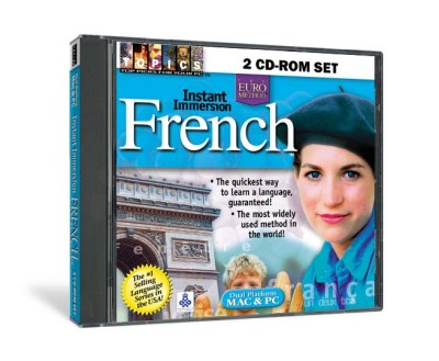 Instant Immersion - French (2 CD-ROM Set)