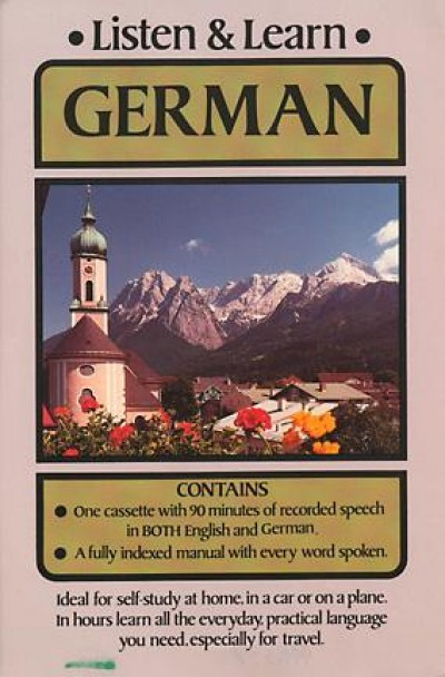 Listen and Learn German (Audio Cassette and Printed Matter)