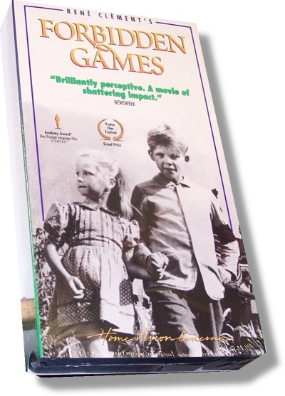 Forbidden Games (VHS)
