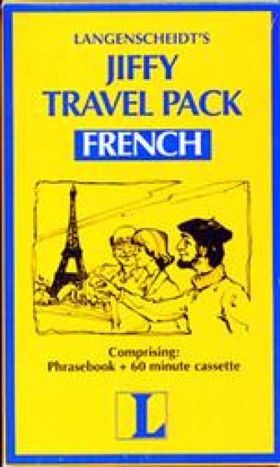 Langenscheidt Jiffy Travel Pack French (Book and Audio Cassette)
