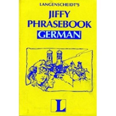 Jiffy Phrasebook German (English and German Edition) (Turtleback)