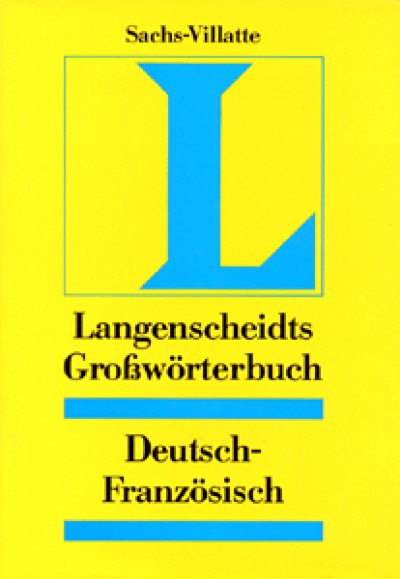 Langenscheidt - Großwörterbuch German-French Dictionary (One Direction Only)