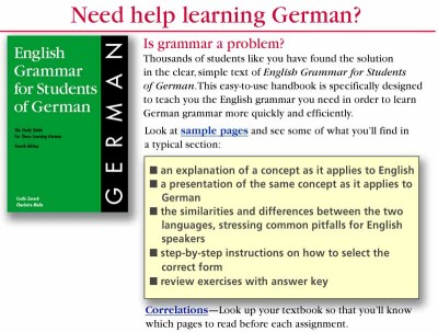 English Grammar for Students of German (PB)