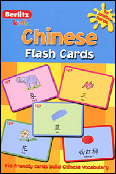 Berlitz Chinese Flash Cards for Kids