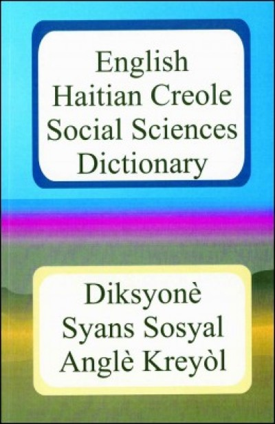 English Haitian Creole Social Sciences Dictionary