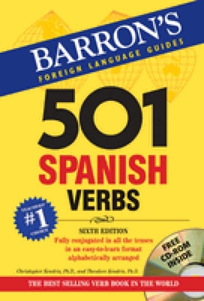 Barrons: 501 Spanish Verbs, 7th Edition (with CD-ROM)