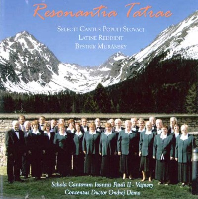 Resonantia Tatrae (Music CD) / Slovak Songs in Latin, Slovak, English