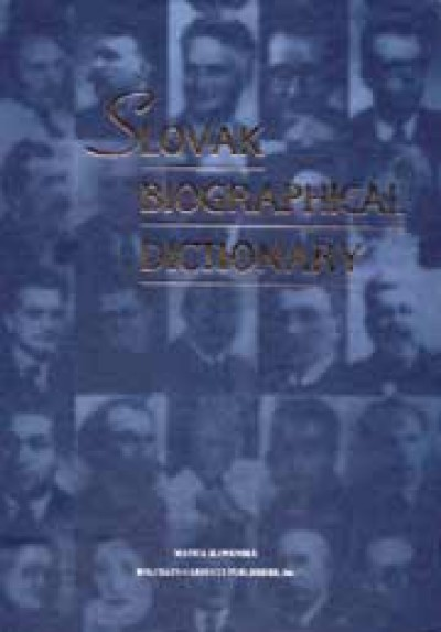 Slovak Biographical Dictionary (HC)