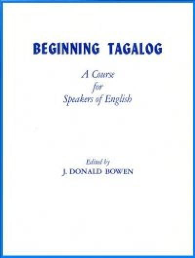 Beginning Tagalog full-length course (Book + Audio Cassettes)