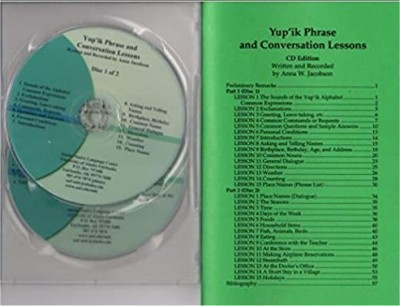Yup'ik Phrase and Conversation Lessons Audio CD/Book