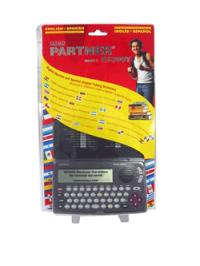 Ectaco Partner ES300T English <-> Spanish Talking Electronic Dictionary