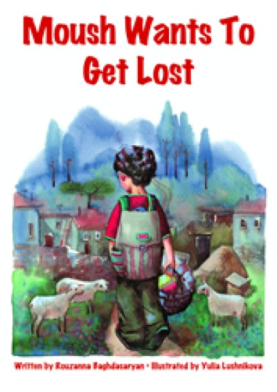 Moush Wants to Get Lost (Paperback) - Albanian