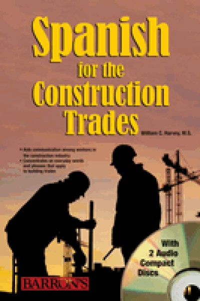 Spanish for The Construction Trades Book includes 2 Audio CDs