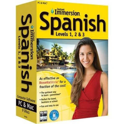 Instant Immersion Spanish Levels 1,2 & 3 (PC & Mac)