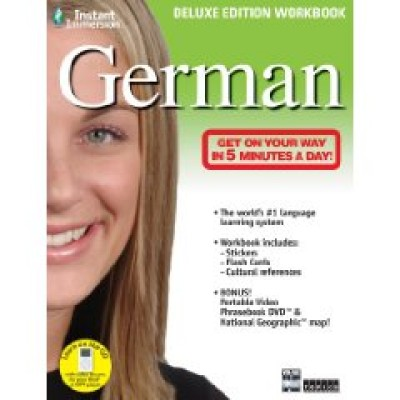 German Instant Immersion Deluxe Edition Workbook